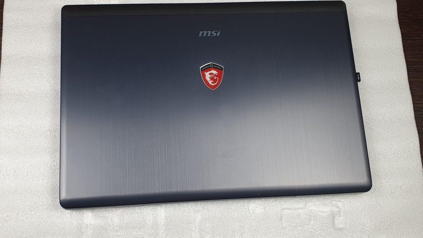 Инструкция по разбору  ноутбука MSI GS70