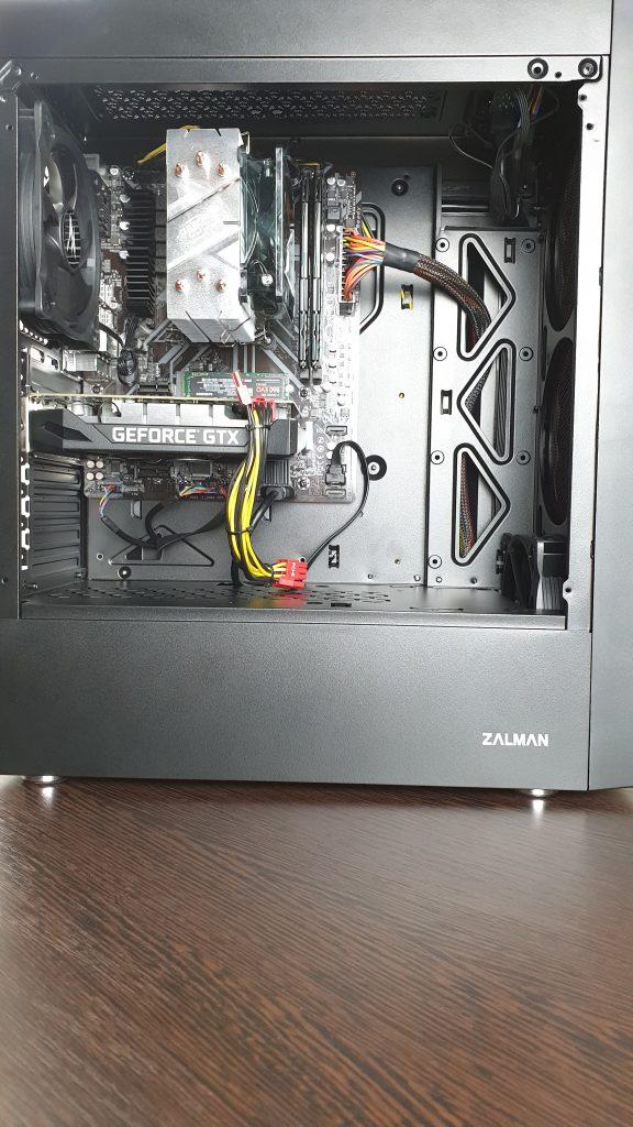 Сборка пк на AMD Ryzen 5 2600x в 2021 году
